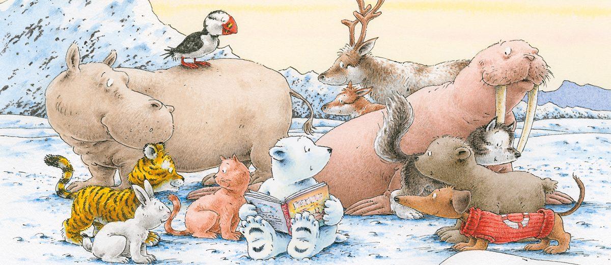 Das Grosse Buch Vom Kleinen Eisbaren Nordsud Verlag