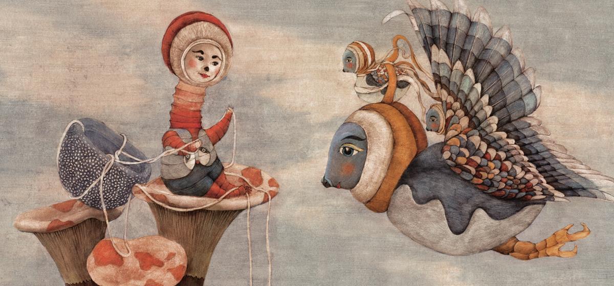 Иллюстрация Сони Дановски к книге Smon Smom