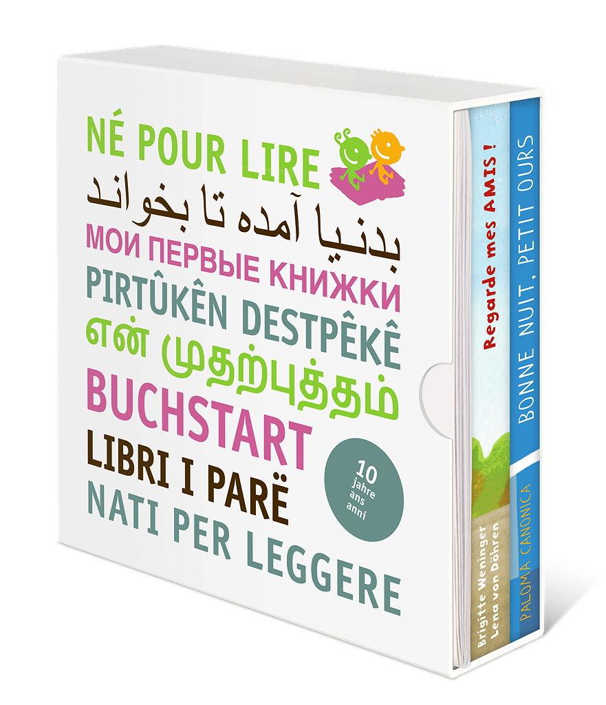 Buchstart Paket Schuber Französisch